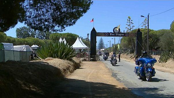 Déferlante de bikers à Faro