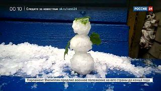 Russia on Ice - Rutschgefahr im Juli