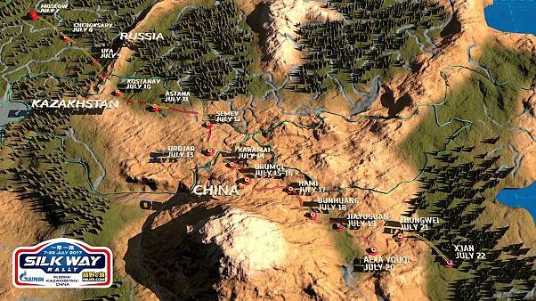 A 7ª edição do Rota da Seda chega ao fim na cidade chinesa de Xian