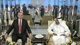 """Erdogan, """"le médiateur"""", est en Arabie Saoudite"""