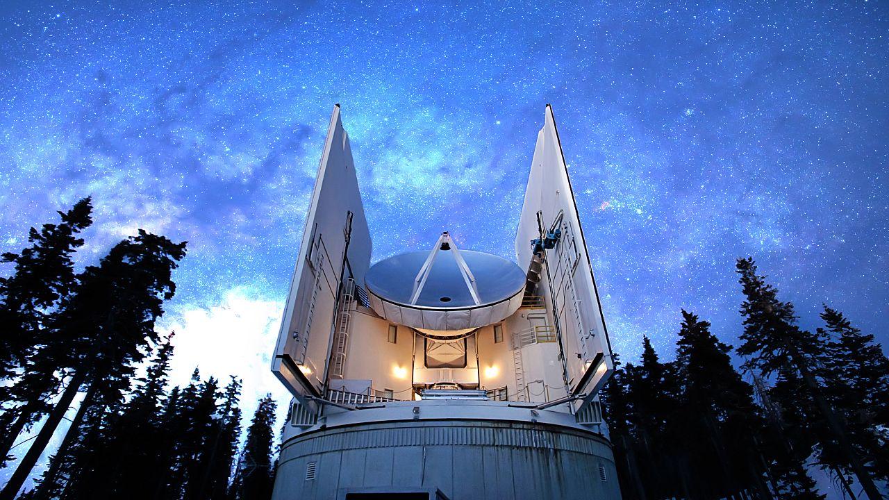 Image: Submillimeter Telescope