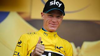 Le britannique Chris Froome gagne le Tour de France pour la quatrième fois