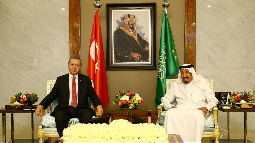 رجب طیب اردوغان با ملک سلمان در جده دیدار کرد