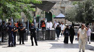 Israel reforça videovigilância no acesso à Esplanada das Mesquitas