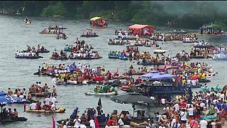 In Serbia c'è il Festival delle barche!