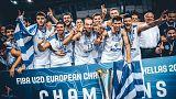 Η Εθνική Νέων της Ελλάδας στην κορυφή της Ευρώπης