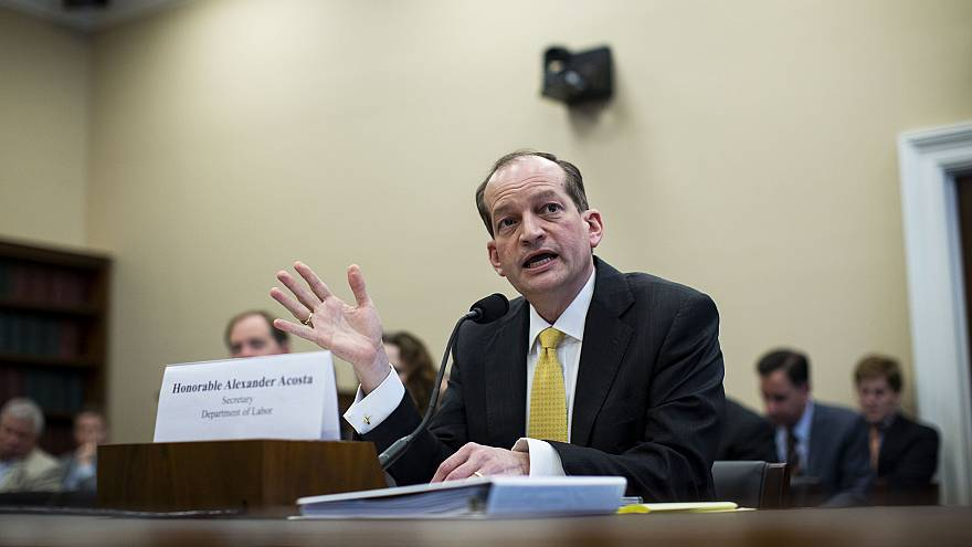 Image: Labor Secretary Alexander Acosta Appears At House Appropriations Com