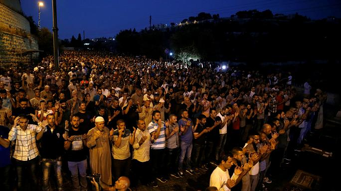 Kudüs'te Mescid-i Aksa gerilimi sürüyor