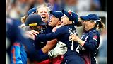 England's women cricketers queens of the cricketing world