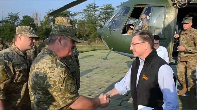 Kurt Volker visita Donbass