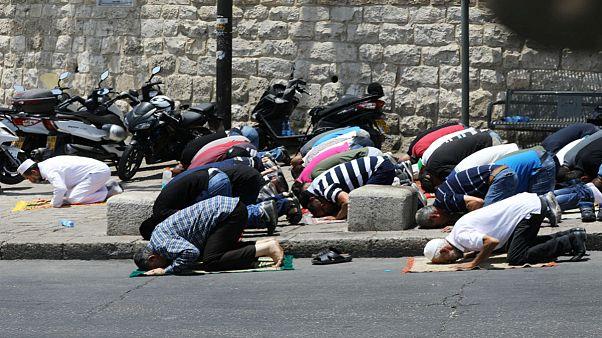 اسرائیل: دستگاههای فلزیاب مسجد الاقصی را برنمی داریم
