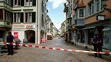 Schweiz: Pressekonferenz nach Motorsägen-Angriff