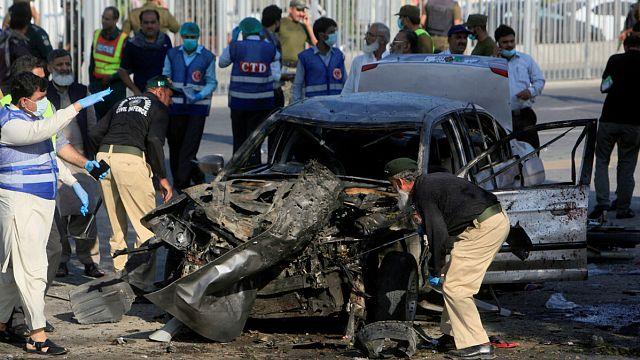 ۲۵ کشته در انفجار در لاهور پاکستان