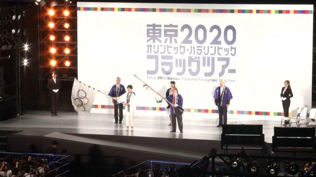 Tokyo 2020: via al countdown, Giappone in festa