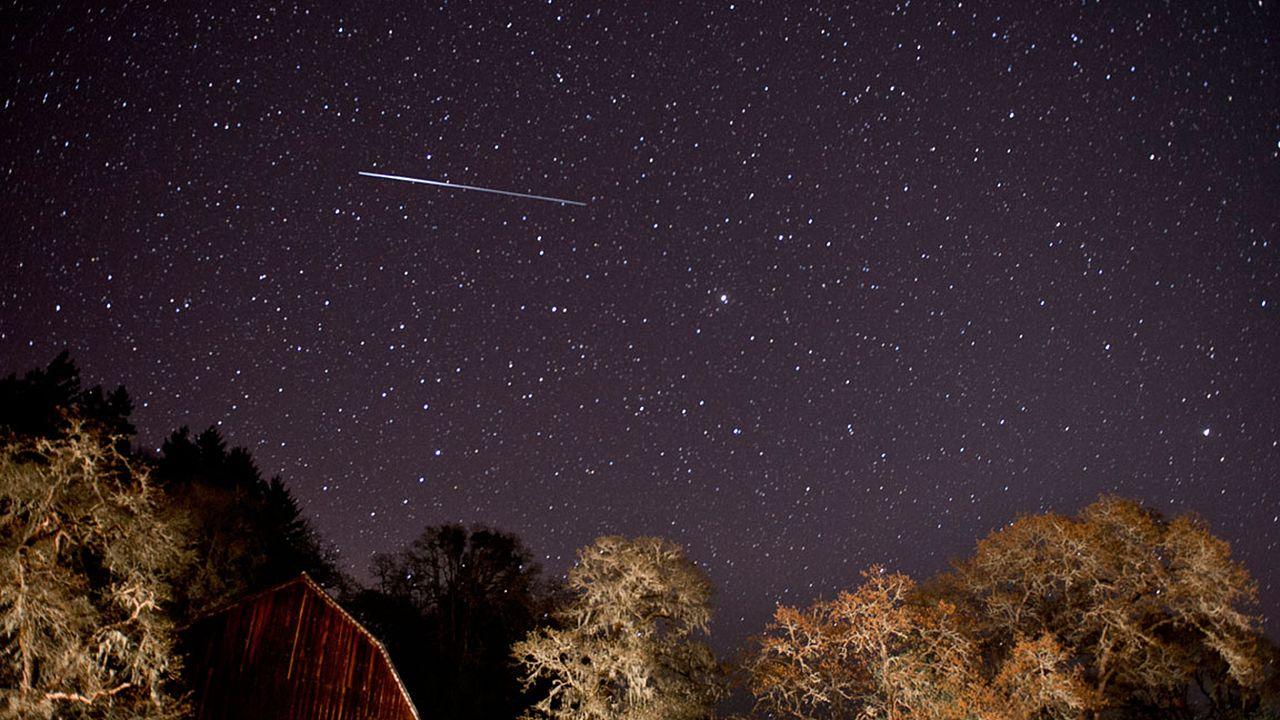 Image: Lyrid Meteor Shower