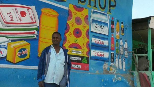 Il redonne des couleurs à la capitale somalienne