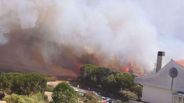 Incendio a Termoli, evacuato stabilimento Fiat