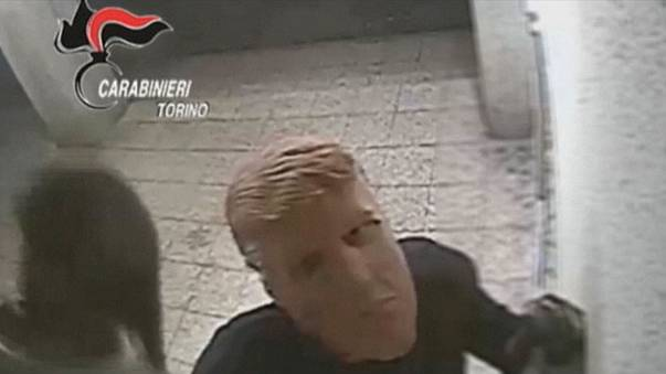 Watch: Trump masks used in Italian cashpoint robbery