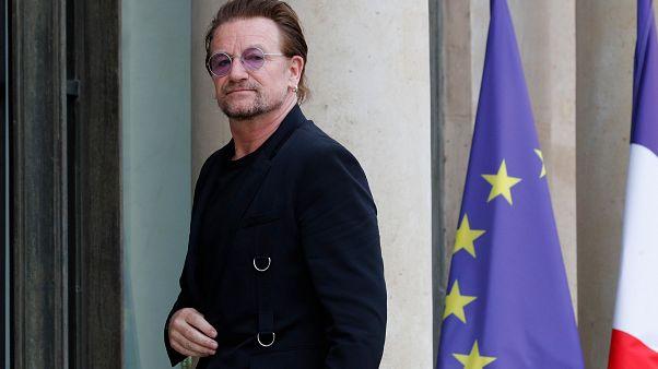 Bono meets Macron