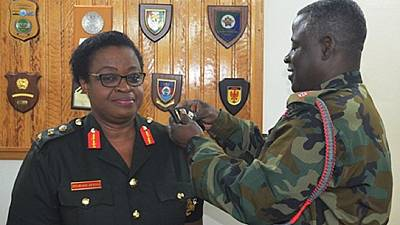 Ghana gets first female Brigadier General: Salute to Constance Edjeani-Afenu