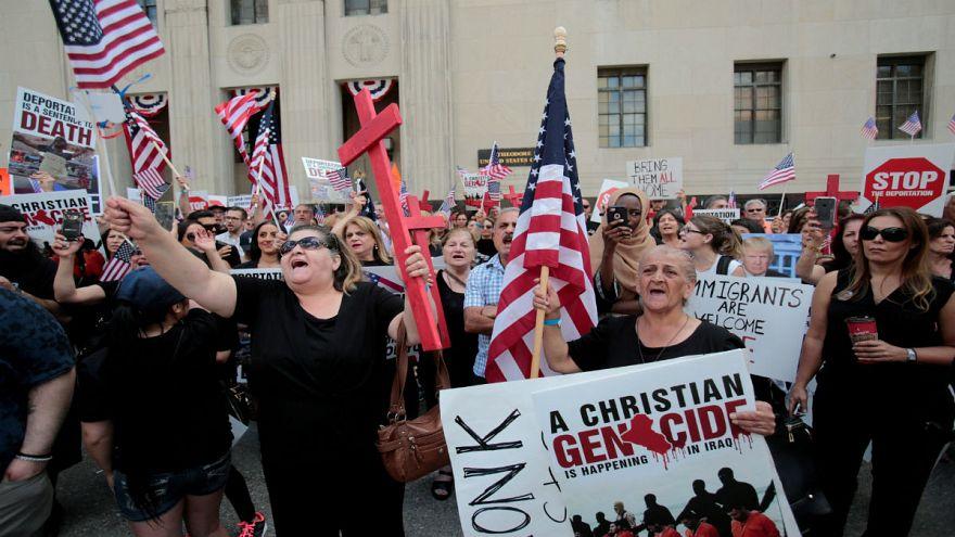 یک قاضی در آمریکا مانع اخراج ۱۴۰۰ عراقی شد