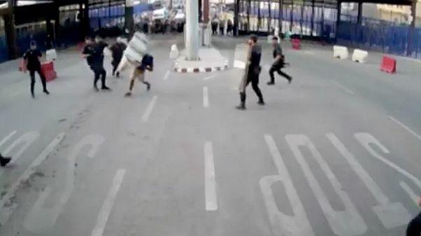 Мелилья: нападение на КПП