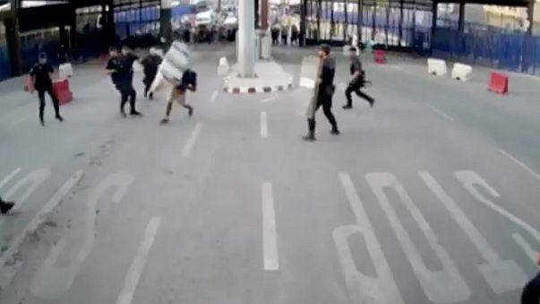 Spagna: a Melilla un uomo ferisce con un coltello un poliziotto gridando 'Allah Akbar'.  La polizia lo arresta