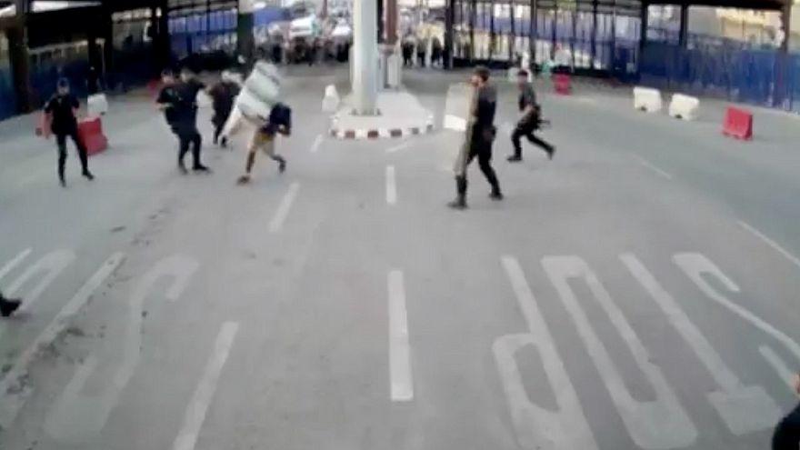 Késes támadás a melillai határnál