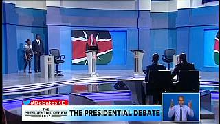 Kenias Präsidentschaftswahlen: Einsame Fernsehdebatte