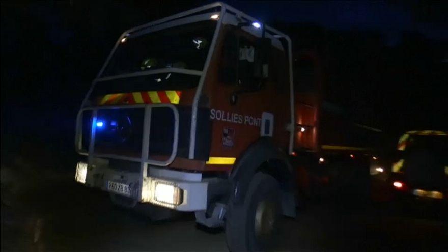 Incêndios fustigam sul de França