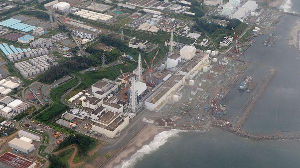 Image: The Fukushima Dai-ichi nuclear plant at Okuma in Fukushima prefectur