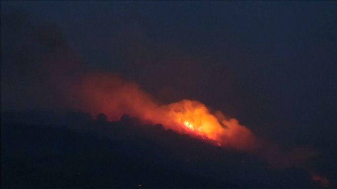 Sul de França devastado por incêndios