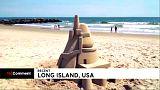 I castelli di sabbia dell'artista Calvin Seibert