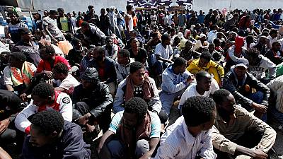 300 migrants rescued off the coast of Libya