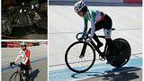 بازتاب درگذشت زینب ساسانیان دوچرخه سوار ایرانی در شبکههای اجتماعی