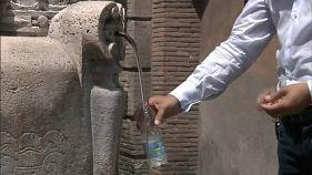 Súlyos szárazság Rómában
