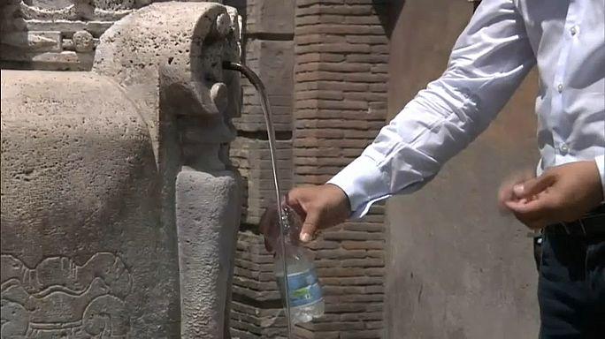 Sécheresse record en Italie, Rome assoiffée