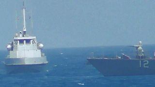 Basra Körfezi'nde ABD gemisinden İran gemisine uyarı ateşi