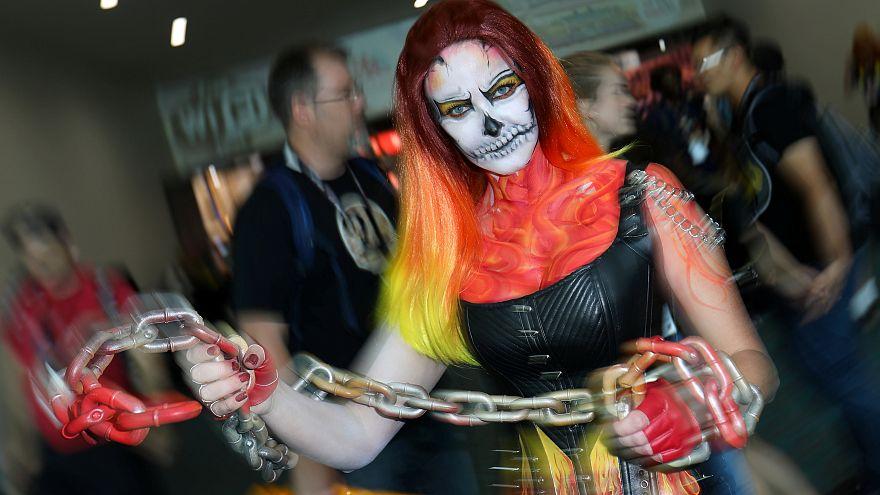Szuperhősök a San Diego-i Comic Con Fesztiválon