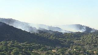 Le sud de la France face aux incendies