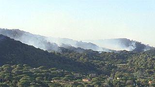 Le sud de la France face aux incendies