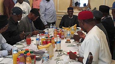 Buhari speaks to Conde: grateful for prayers, accepts A.U. anti-corruption job
