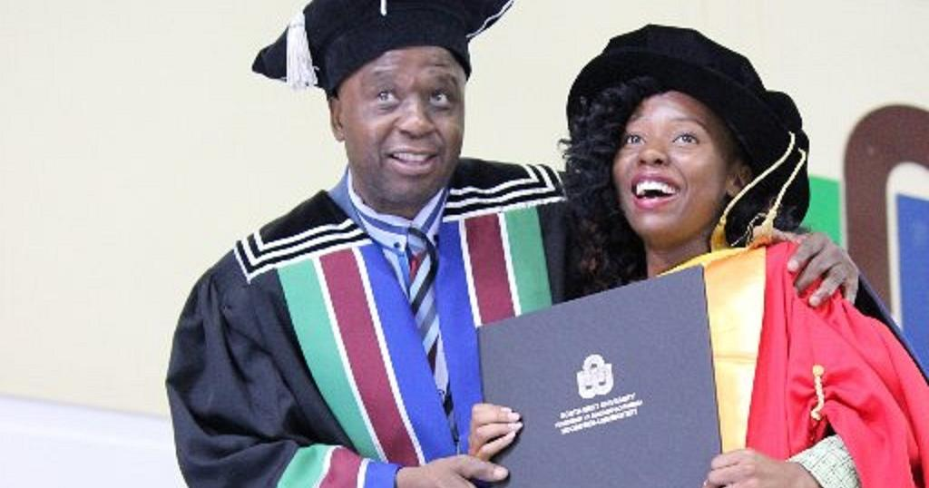 Africa U2019s Youngest Female PhD Holder Musawenkosi Saurombe