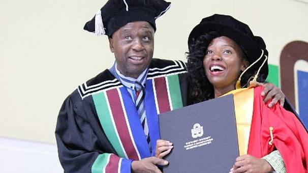 Africa's youngest female PhD holder: Musawenkosi Saurombe