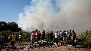 آتش سوزی در فرانسه؛ ۱۰ هزار نفر از ساکنان تخلیه شدند