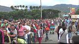Ces Vénézuéliens qui fuient leur pays de peur du pire