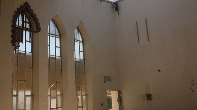 الكاردينال بارباران في زيارته لمدينتي قراقوش والموصل