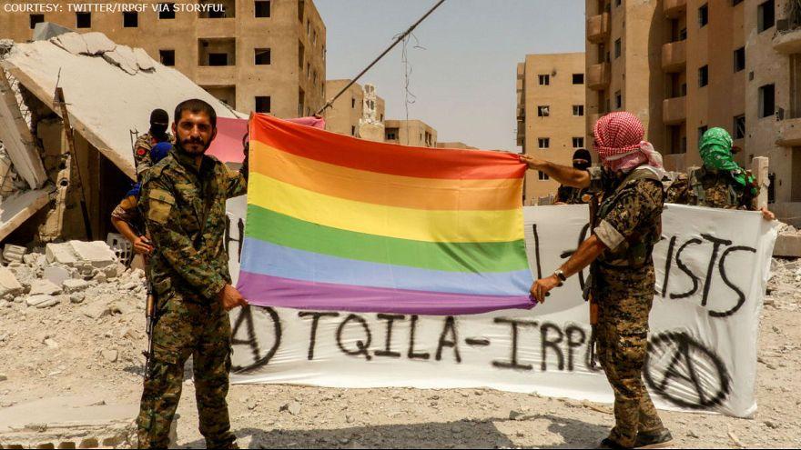یگان ویژه دگرباشان جنسی در جنگ با داعش