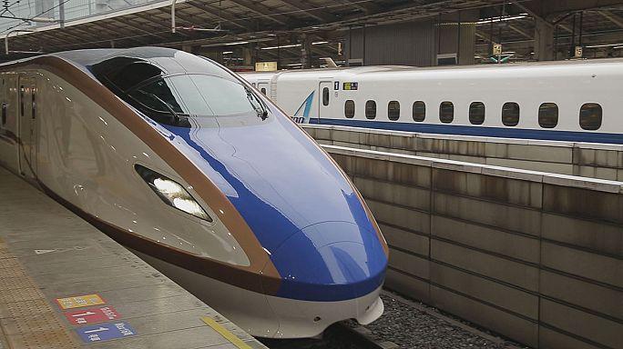 Dünyayı büyüleyen Shinkansen trenleri!