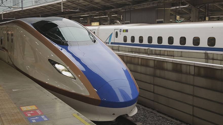 The Shinkansen: a dream train!